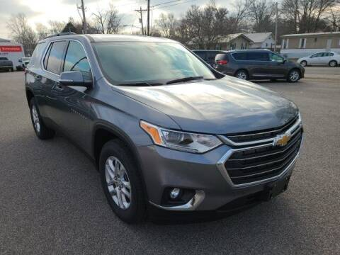 2021 Chevrolet Traverse for sale at LeMond's Chevrolet Chrysler in Fairfield IL
