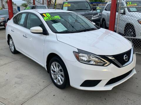 2018 Nissan Sentra for sale at LIBERTY AUTOLAND INC in Jamaica NY