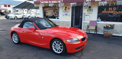 2007 BMW Z4 for sale at ANYTHING ON WHEELS INC in Deland FL