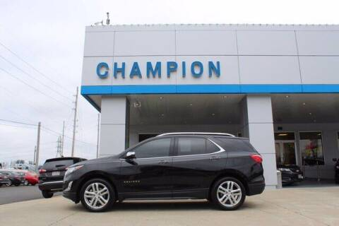 2018 Chevrolet Equinox for sale at Champion Chevrolet in Athens AL