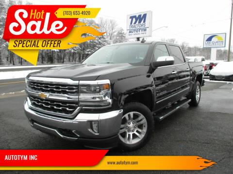 2017 Chevrolet Silverado 1500 for sale at AUTOTYM INC in Fredericksburg VA
