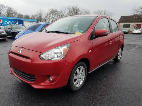 2015 Mitsubishi Mirage for sale at Germantown Auto Sales in Carlisle OH