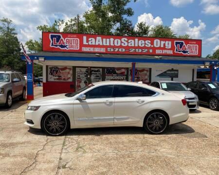 2014 Chevrolet Impala for sale at LA Auto Sales in Monroe LA