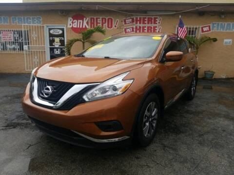 2017 Nissan Murano for sale at VALDO AUTO SALES in Miami FL