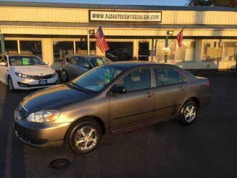2005 Toyota Corolla for sale at PJ's Auto Center in Salem OR