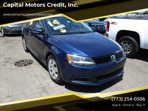 2014 Volkswagen Jetta for sale at Capital Motors Credit, Inc. in Chicago IL