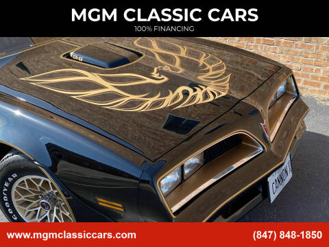 1977 Pontiac Trans Am for sale at MGM Classic Cars in Addison, IL