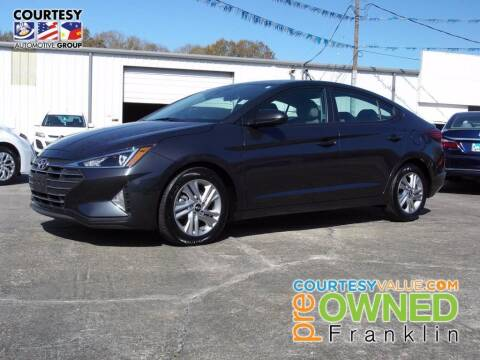 2020 Hyundai Elantra for sale at Courtesy Toyota & Ford in Morgan City LA