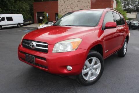 2008 Toyota RAV4 for sale at Atlanta Unique Auto Sales in Norcross GA