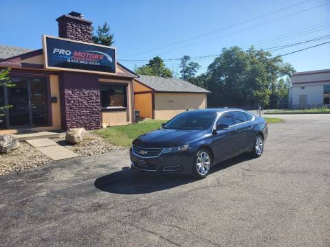 2017 Chevrolet Impala for sale at Pro Motors in Fairfield OH
