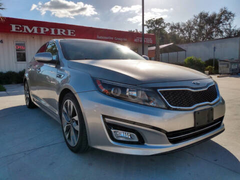 2015 Kia Optima for sale at Empire Automotive Group Inc. in Orlando FL
