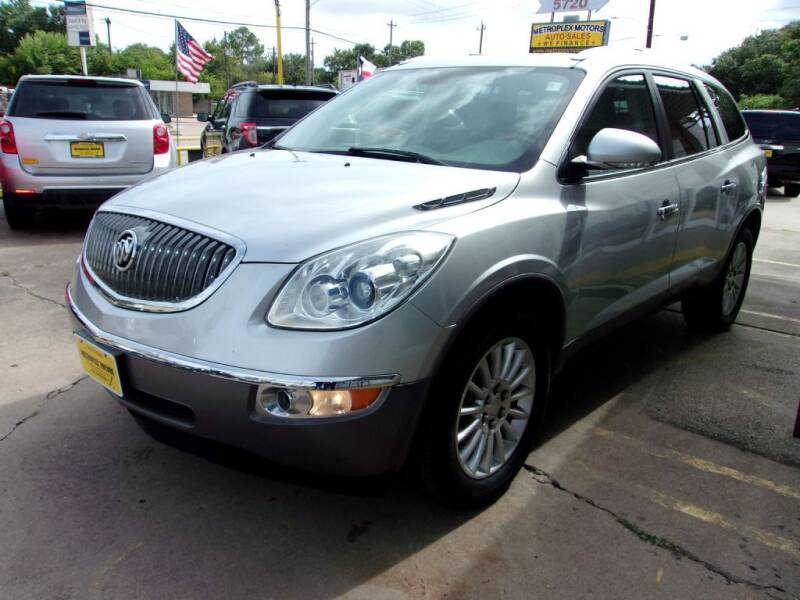 2012 Buick Enclave for sale at Metroplex Motors Inc. in Houston TX