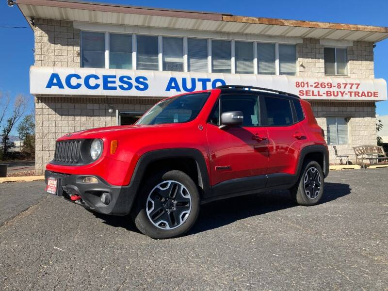 2017 Jeep Renegade for sale at Access Auto in Salt Lake City UT