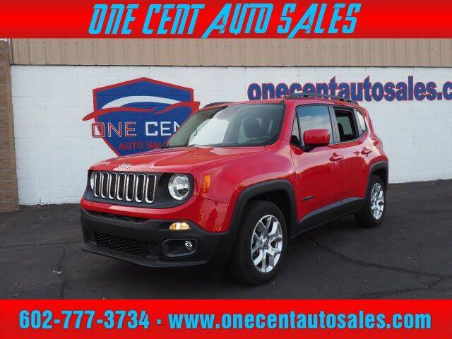 2015 Jeep Renegade for sale at One Cent Auto Sales in Glendale AZ