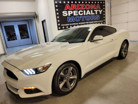 2015 Ford Mustang for sale at Arizona Specialty Motors in Tempe AZ