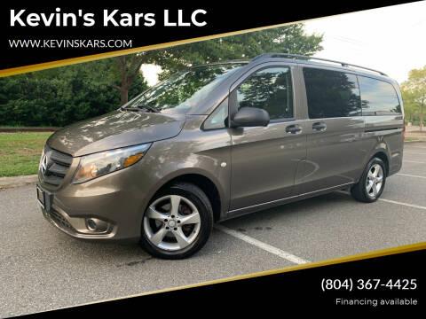 2016 Mercedes-Benz Metris for sale at Kevin's Kars LLC in Richmond VA