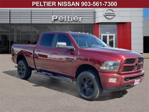 2017 RAM Ram Pickup 2500 for sale at TEX TYLER Autos Cars Trucks SUV Sales in Tyler TX