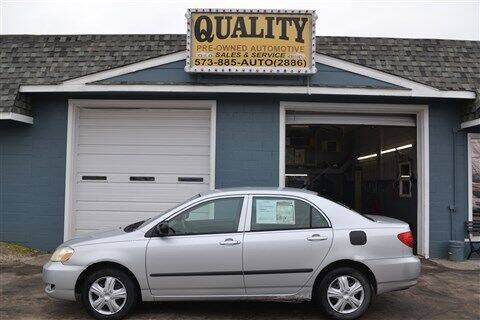 2005 Toyota Corolla for sale at Quality Pre-Owned Automotive in Cuba MO