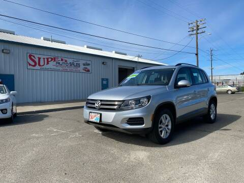 2017 Volkswagen Tiguan for sale at SUPER AUTO SALES STOCKTON in Stockton CA