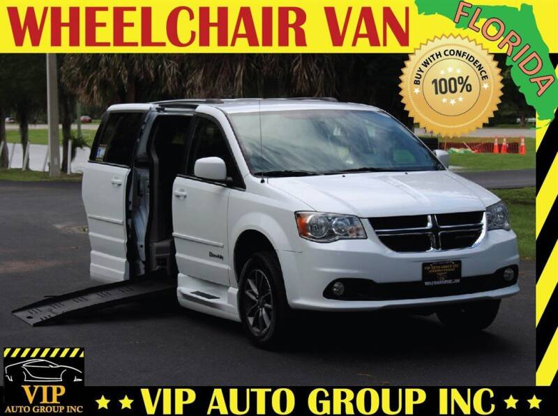 2017 Dodge Grand Caravan for sale at VIP Auto Group in Clearwater FL