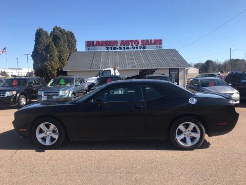 2012 Dodge Challenger for sale at BLAESER AUTO LLC in Chippewa Falls WI