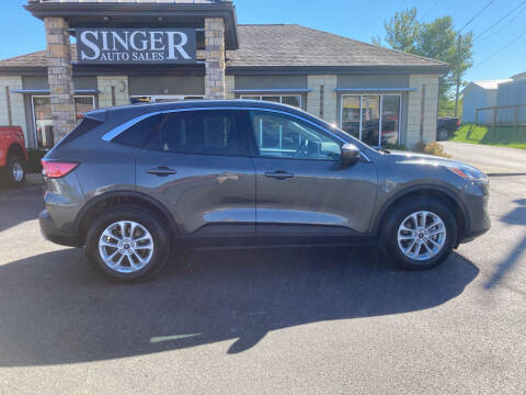 2020 Ford Escape for sale at Singer Auto Sales in Caldwell OH