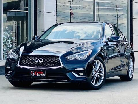 2018 Infiniti Q50 for sale at Carmel Motors in Indianapolis IN