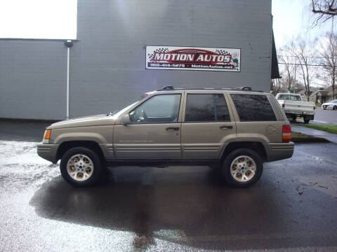 1997 Jeep Grand Cherokee for sale at Motion Autos in Longview WA