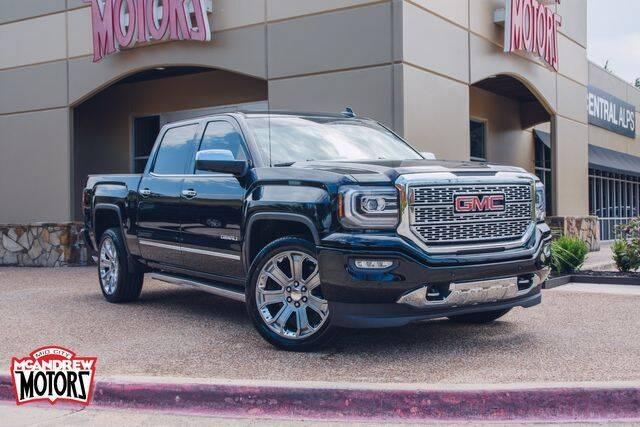 2018 GMC Sierra 1500 for sale at Mcandrew Motors in Arlington TX