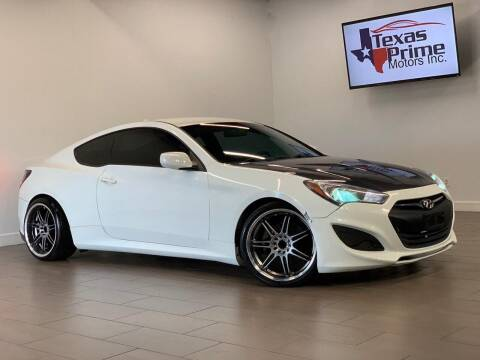 2012 Hyundai Genesis Coupe for sale at Texas Prime Motors in Houston TX