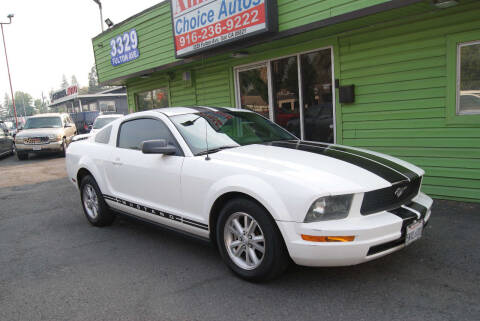 2005 Ford Mustang for sale at Amazing Choice Autos in Sacramento CA