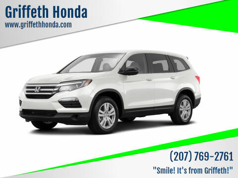 2016 Honda Pilot for sale at Griffeth Honda - Pre Owned in Presque Isle ME