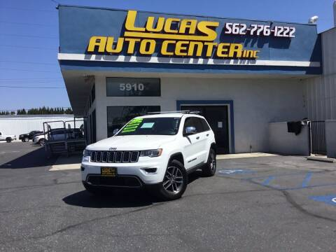 2017 Jeep Grand Cherokee for sale at Lucas Auto Center in South Gate CA