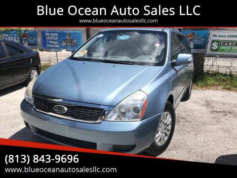 2011 Kia Sedona for sale at Blue Ocean Auto Sales LLC in Tampa FL