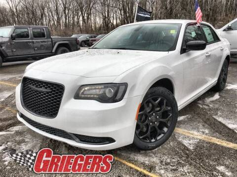 2021 Chrysler 300 for sale at GRIEGER'S MOTOR SALES CHRYSLER DODGE JEEP RAM in Valparaiso IN