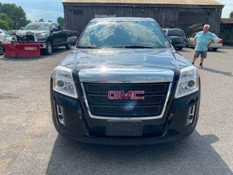 2012 GMC Terrain for sale at Paul Hiltbrand Auto Sales LTD in Cicero NY