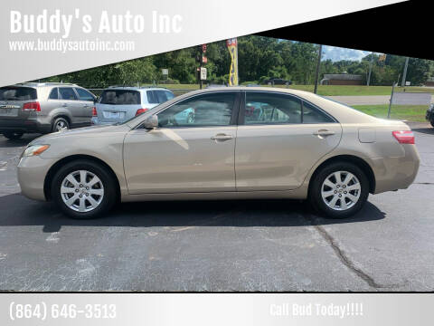 2007 Toyota Camry for sale at Buddy's Auto Inc in Pendleton, SC