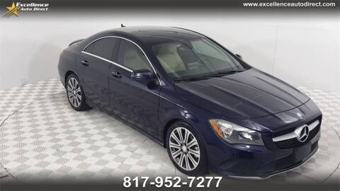 2017 Mercedes-Benz CLA for sale at Excellence Auto Direct in Euless TX