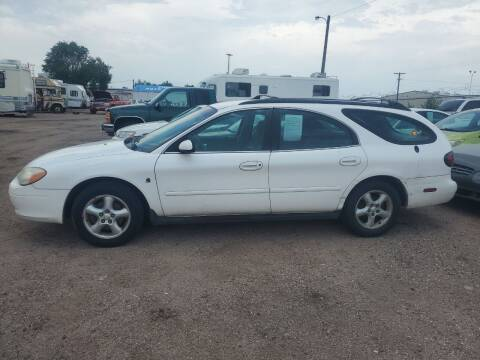 2001 Ford Taurus for sale at PYRAMID MOTORS - Fountain Lot in Fountain CO