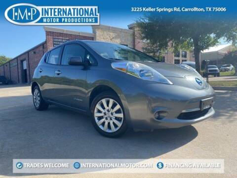 2014 Nissan LEAF for sale at International Motor Productions in Carrollton TX