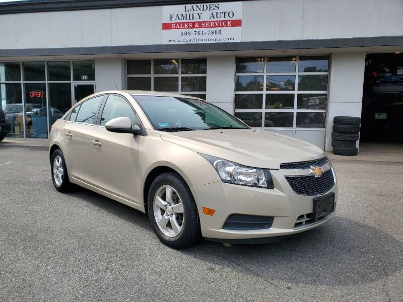 2011 Chevrolet Cruze for sale at Landes Family Auto Sales in Attleboro MA