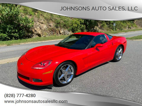2011 Chevrolet Corvette for sale at Johnsons Auto Sales, LLC in Marshall NC