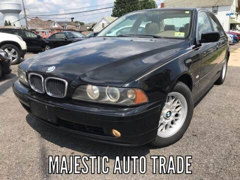 2001 BMW 5 Series for sale at Majestic Auto Trade in Easton PA