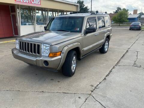 2006 Jeep Commander for sale at Wolfe Brothers Auto in Marietta OH