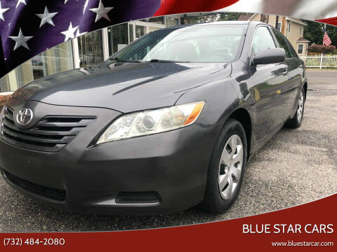 2007 Toyota Camry for sale at Blue Star Cars in Jamesburg NJ