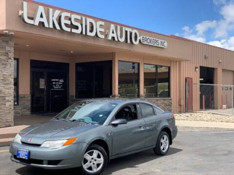 2007 Saturn Ion for sale at Lakeside Auto Brokers Inc. in Colorado Springs CO