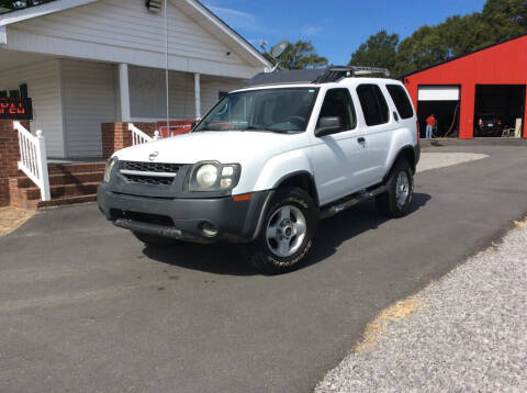 2002 Nissan Xterra for sale at Ace Auto Sales - $1000 DOWN PAYMENTS in Fyffe AL