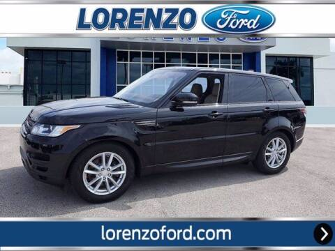 2017 Land Rover Range Rover Sport for sale at Lorenzo Ford in Homestead FL