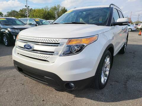 2014 Ford Explorer for sale at Eagle Motors in Hamilton OH