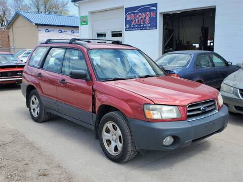2004 Subaru Forester for sale at Ericson Auto in Ankeny IA
